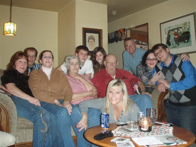 The Royer clan, Thanksgiving 2008.