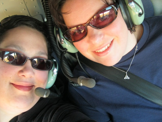 The best way to see the Grand Canyon? Helicopter, of course. Our first annual birthday getaway, 2010.